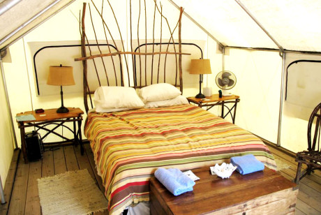 Glamping in Santa Barbara